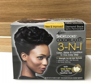 Luster's ShortLook ColorLaxer 3-n-1 Diamond  Black Semi-Permanent